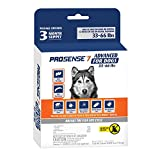 ProSense 7 Flea & Tick Prevention and Control for Dogs 33-66 lb - 3 Month Supply