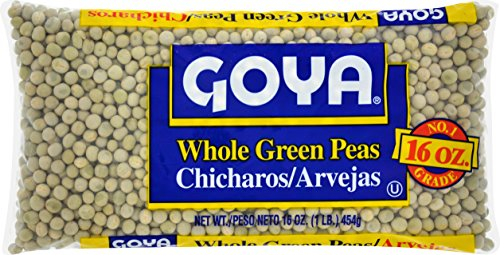 Goya Foods Whole Green Peas, 16-Ounce (Pack of 24)