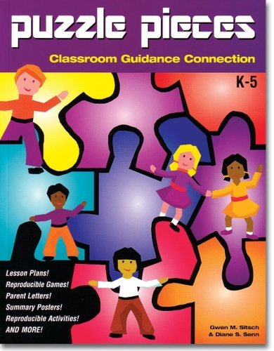 Puzzle Pieces: Classroom Guidance Connection book w/ CD by Diane Senn (2001-12-01)
