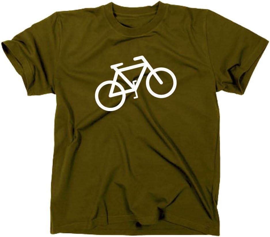 Styletex23 Bicicleta Logo Camiseta de tráfico de Caracteres ...