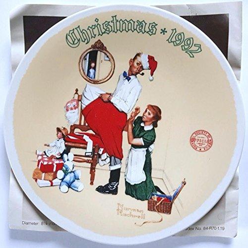 1992 Christmas Plate (Norman Rockwell Christmas 1992