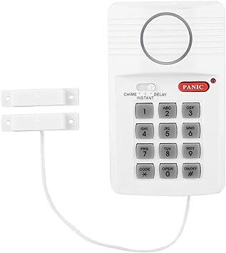 OKBY Teclado de Seguridad - Sistema de Alarma de Puerta 3 ...