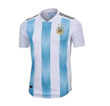Lvbeis Copa Mundial 2018 Hombre Ropa Deportiva Fútbol Argentina Camiseta  Transpirable e4e68cc7bd4f8