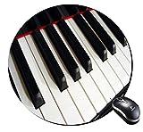 Round Mousepad piano design Mouse Pad