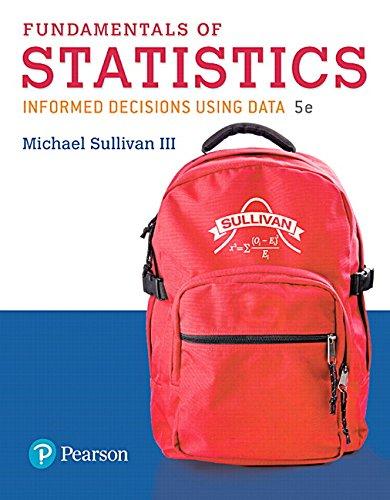 Fundamentals of Statistics (5th Edition)