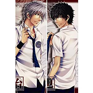 Japanese Anime Body Pillow Anime Prince of Tennis, 13.4''x39.4'' Double-sided Design