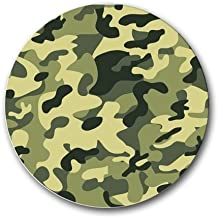 Green Camo Round Mousepad Mouse Pad Great Gift Idea