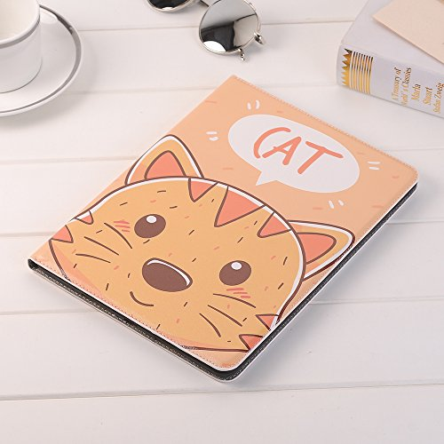 10.5 inch iPad Case Pro 10.5 Sleeve,TechCode Luxury Cute Cartoon Pattern Folio Stand Protective Case PU Leather Book Cover With Credit Card Slots & Pencil Holder Slim Fit for Apple iPad Pro 10.5 inch by TechCode (Image #7)