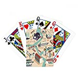 beatChong Singapore Travel Sightseeing Route Poker Playing Card Tabletop Board Game Gift