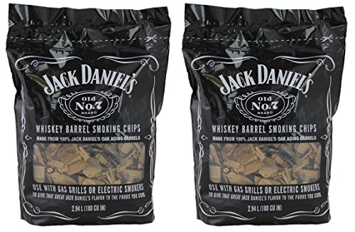 Jack Daniels 01749 Wood BBQ Smoking Chips (2 (Outdoor Jack)