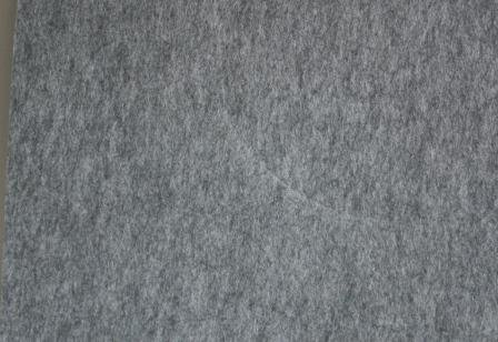 Bastelfilz extra dick 4mm 30x40cm grau meliert