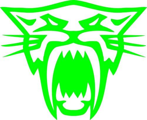 Pair of Arctic Cat Head Decal Sticker (Arctic Cat ()