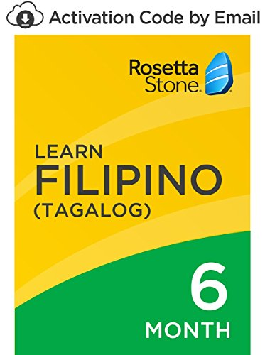 Rosetta Stone: Learn Filipino (Tagalog) for 6 months on iOS, Android, PC, and Mac [Activation Code by Email] by...