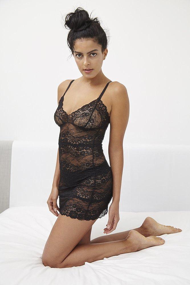 1cabe30d6f Samantha Chang Women s All Lace Boudoir Full Slip (Black