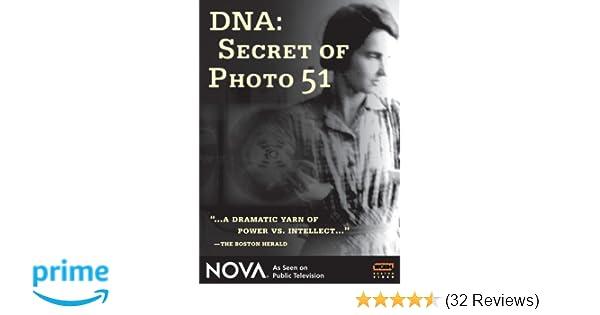 Amazon Nova Dna Secret Of Photo 51 Nova Movies Tv