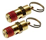 Porter Cable C2002/C2006 Compressor OEM Replacement (2 Pack) Safety Valve # A17987-2pk