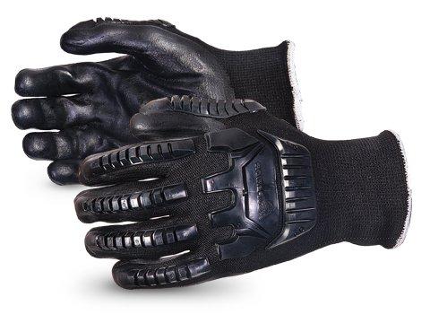 Superior SKBFNTVB Emerald CX, Impact-resistant Nylon/Stainless-steel String-knit Glove, Work, Cut Resistant, Medium (Pack of 1 Pair)