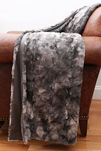 Thro by Marlo Lorenz TH012668001 Darwin Faux Fur Throw in Ch