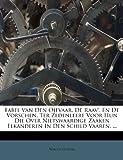 Fabel Van Den Ojevaar, de Raav', en de Vorschen Ter Zedenleere Voor Hun Die over Nietswaardige Zaaken Elkanderen in Den Schild Vaaren, Willem Ockers, 1246338599