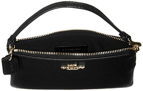 Coach, Borsetta da polso donna nero Light Gold/Black
