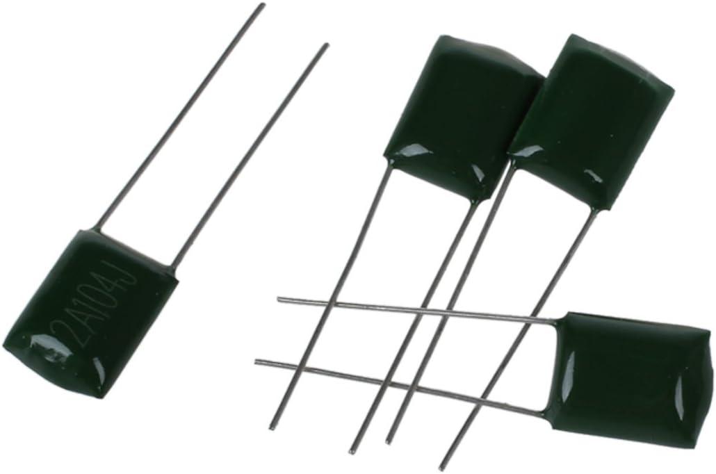 Camisin 0,1 uF 100V Polyester Film 2A104J Kondensator 100 Stueck