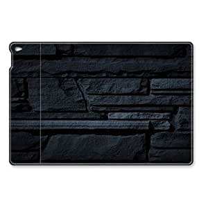 Black Stone textures iPad Air Flip Leather Case Cover