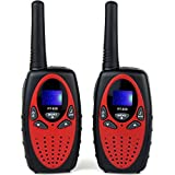 Feeto RT-628 22 Channel FRS/GMRS Kids Walkie Talkie (Red, Pack of 2)