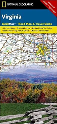 Virginia: National Geographic Guide Map: NG.GM46.00620544 ...