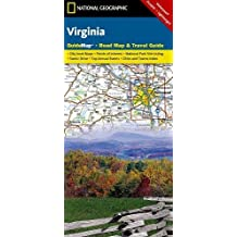 Virginia: Guidemap Road Map & Travel Guide
