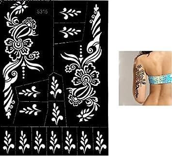 Tatuajes plantillas gran S315 mehndi tatuaje plantilla AU henné ...