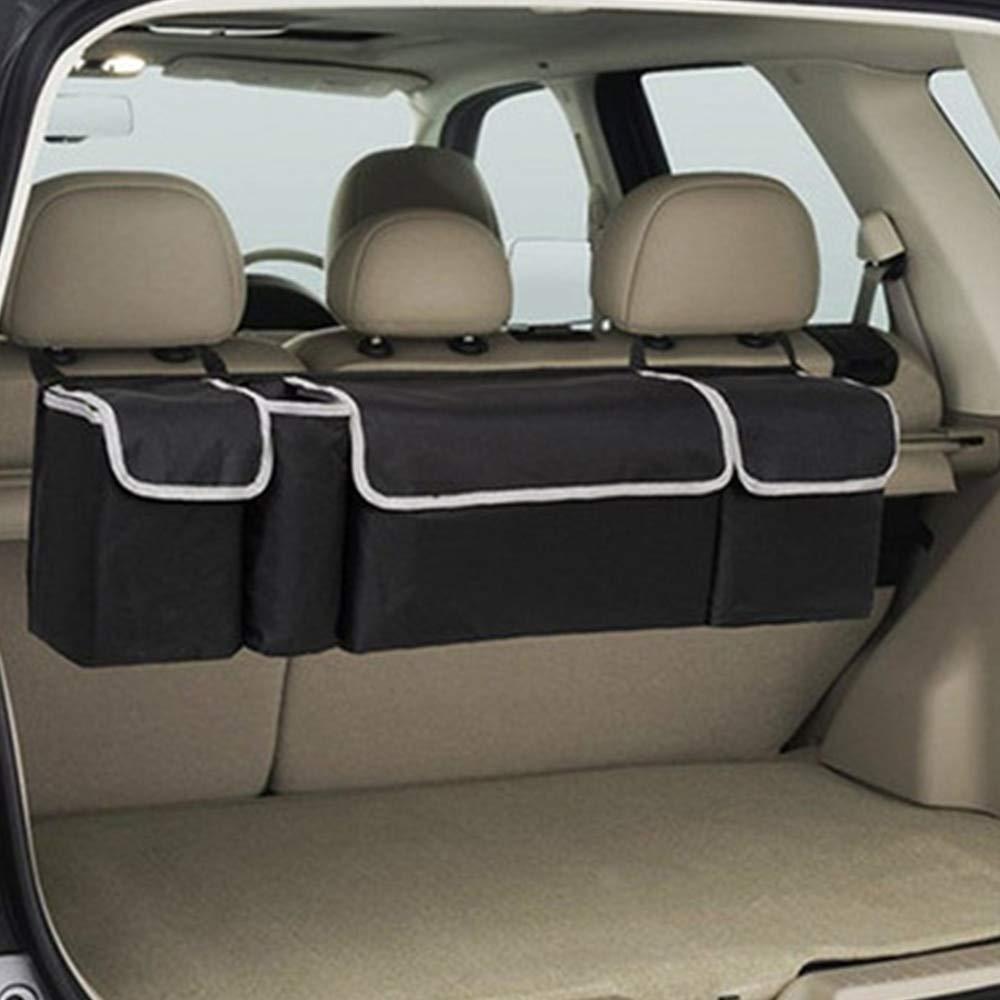 New 5 Spacious Pockets High Capacity Car Trunk Backseat Storage Bag Organizer