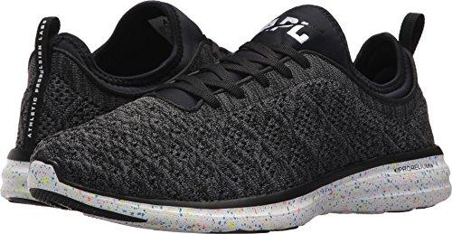 APL: Athletic Propulsion Labs Men's TechLoom Phantom Running Sneakers, Black/Multi Speckle, 7 D(M) US
