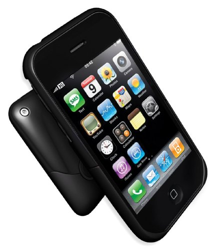 IFROGZ iphone3g-st-blk Luxe Case for iPhone 3G/3GS (Black)