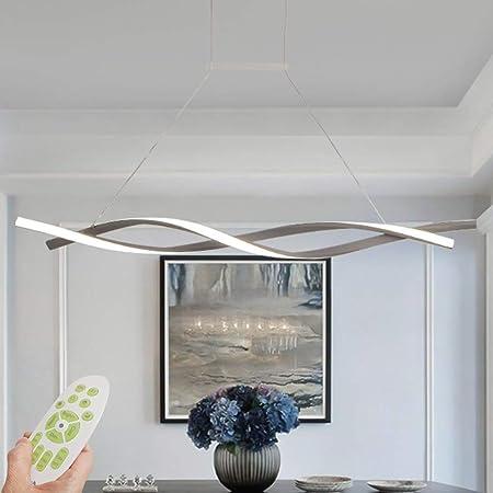 LED Lámpara colgante moderna Mesa de comedor regulable ...