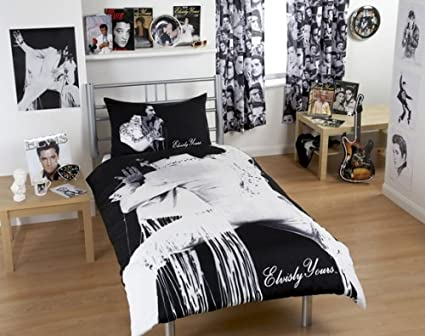 Elvis Presley Bedding Sets.Elvis Presley Duvet Cover Bedding Set Amazon Co Uk Kitchen