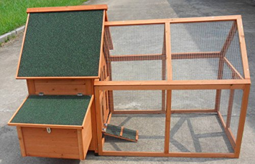 """ChickenCoopOutlet Large 64"""" Backyard Chicken Coop Running..."""