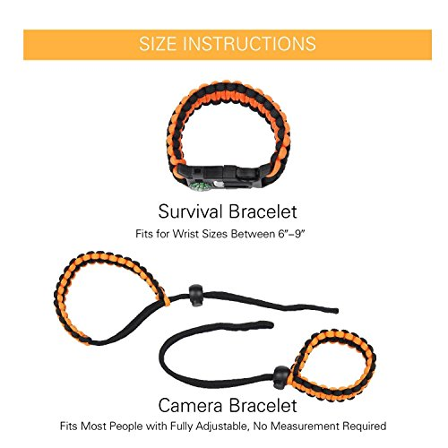 Buy paracord clasp with knife