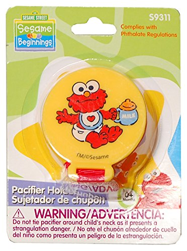 Pacifier Sesame St & Holder,Baby King,S9311