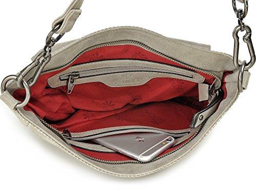 sacs MIYA cm pour l H BLOOM à x 22 croisés 10 couleur à x sacs x rabat P sac main gris sacs 29 à dames x bandoulière anthracite r5IwrxRHq