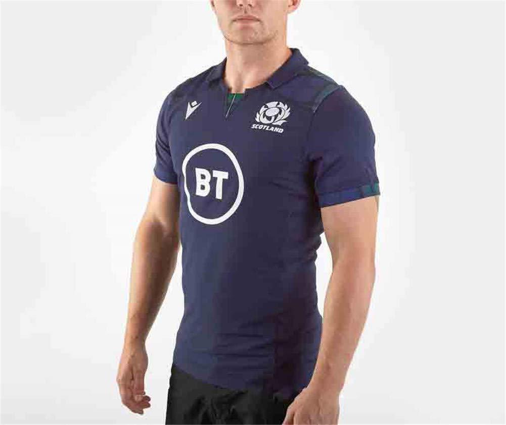 YHANS Copas del Mundo 2020 Escocia Inicio Rugby Jersey, Poliester ...