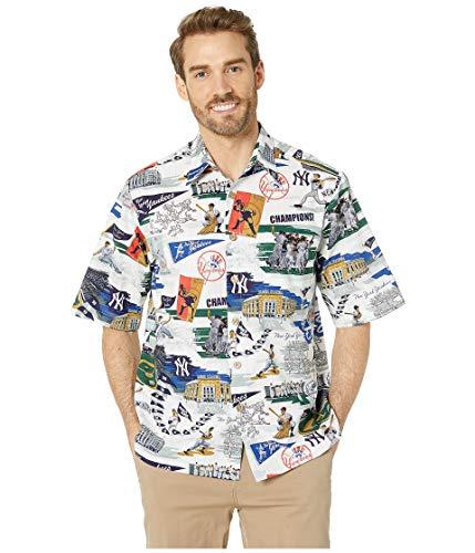 - Reyn Spooner Men's New York Yankees MLB Classic Fit Hawaiian Shirt, Scenic 2019, Medium