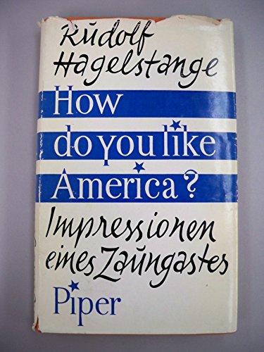 How do you like America?: Impressionen eines Zaungastes