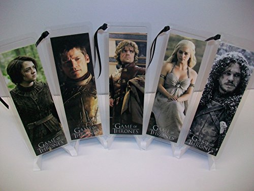 GAME OF THRONES Bookmark Set of 5 Collectible Memorabilia complements poster comic book