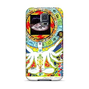 Samsung Galaxy S5 Qhy2896BQGG Customized Lifelike Grateful Dead Pattern High Quality Cell-phone Hard Covers -Marycase88