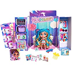 Hairdorables Dolls ‐ Collectible Surprise Dolls and Accessories: Series 1 (Styles May Vary) 1, Multicolor And BONUS (1) UNICORN LIPGLOSS