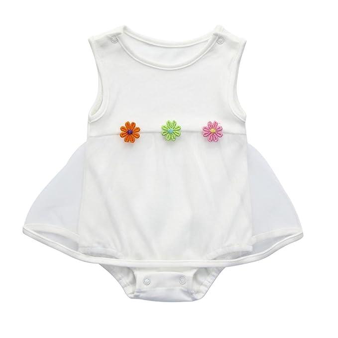 Vestido para Niñas, K-youth® Venta Caliente 2018 Ropa Bebe Niña Recien Nacida