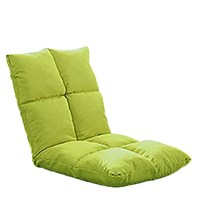 Amazon.com GGCG Lazy couch childrenu0027s tatami chair single bedroom folding back bed small sofa (color green orange) Kitchen u0026 Dining  sc 1 st  Amazon.com & Amazon.com: GGCG Lazy couch childrenu0027s tatami chair single bedroom ...