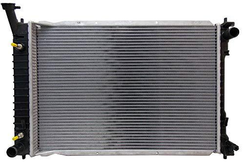 Mercury Villager Radiator Cooling Fan - Replacement Radiator For 1999-2002 Mercury Villager Nissan Quest 3.3L V6
