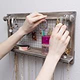 : Jewelry Organizer with Bracelet Rod