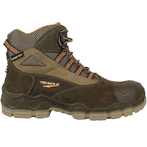 """Cofra 20180-001.W46 S3 SRC taglia 46 WR """"Michelangelo"""", scarpe di sicurezza, colore: grigio"""